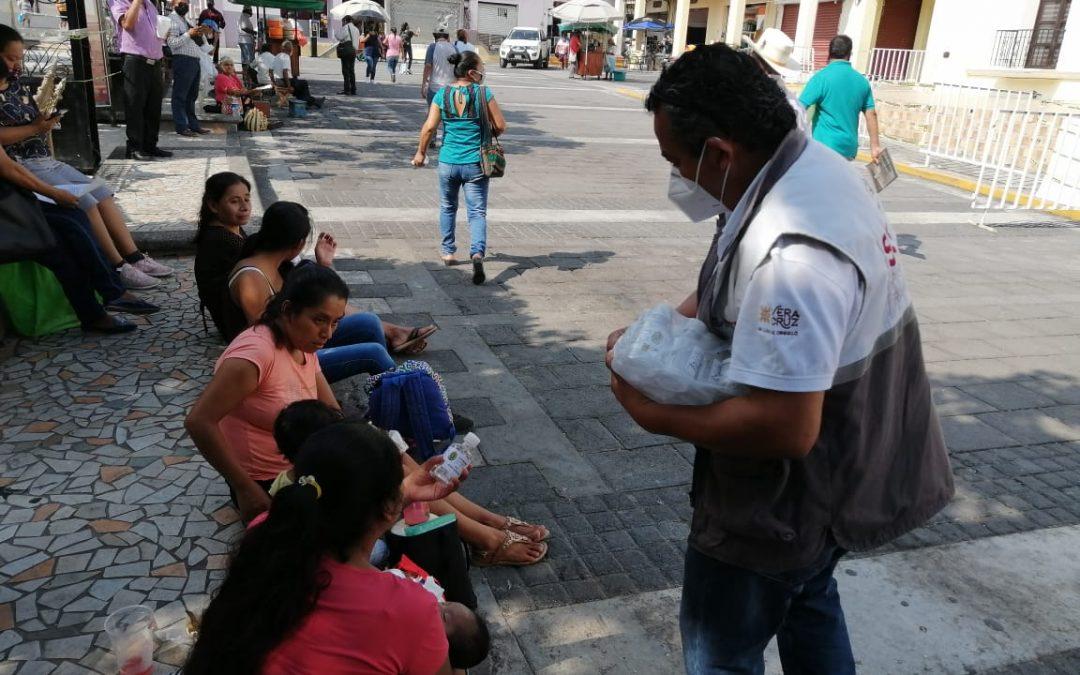 Jurisdicciones sanitarias trabajan en municipios para crear conciencia y tomar acción frente a COVID-19